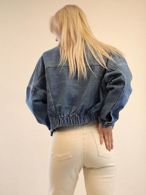 Juliette Cropped Denim Jacket
