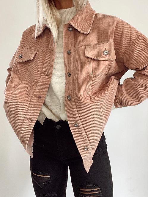 Alora Loose Fit Corduroy Jacket