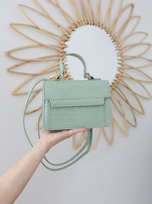 Gabriella Snakeskin Bag