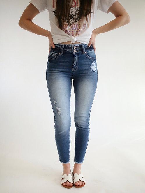 KanCan Gemma Ankle Skinny High Rise