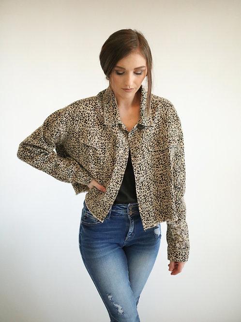 Emmeline Leopard Jacket
