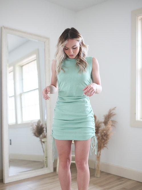 Jubilee Knit Scrunch Dress
