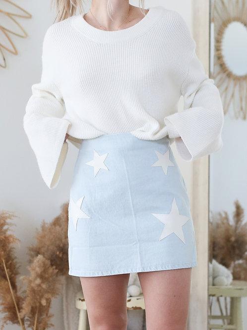 Jess + Jay Denim Mini Skirt