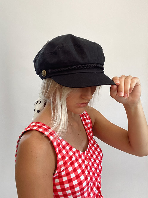 Sailor Newsboy Hat