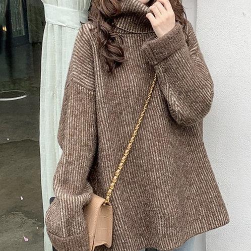 Eilene Slouchy Turtleneck Sweater