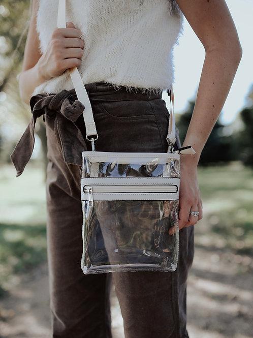 Clear Messenger Crossbody Bag