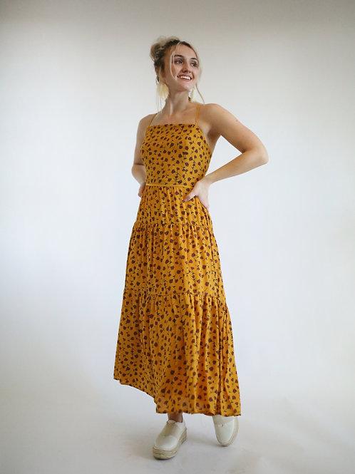Floral Boho Midi Dress
