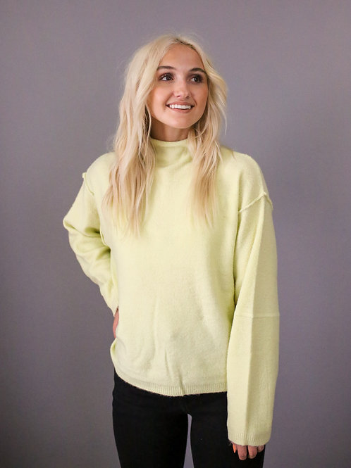 Willow High Neck Sweater