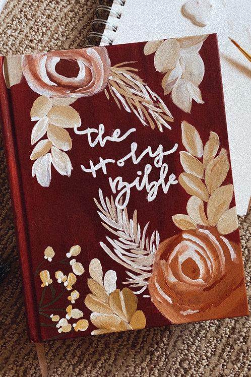 Han-Painted ESV Journaling Bible