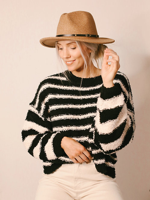 Makenna Brings Happiness Pullover Sweater