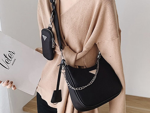 Chic Chain Crossbody Bag