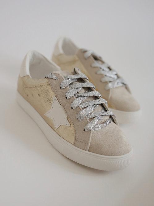 Color Block Star Sneaker
