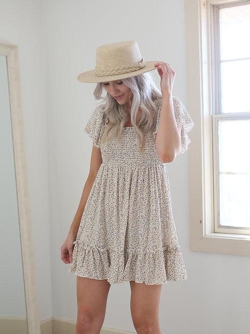 Sweetness to My Soul Floral Mini Dress