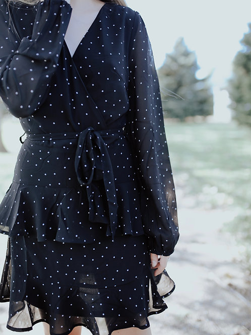 Liliana Polka Dot Dress