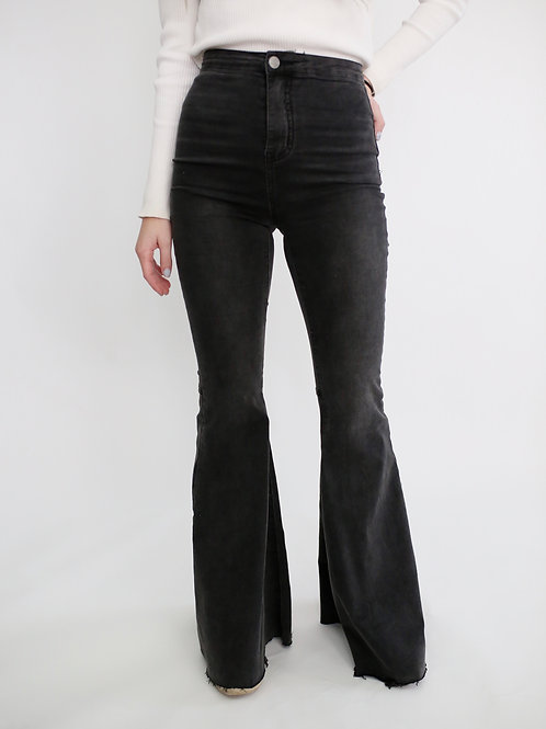 By Together Baker Bell Bottom Denim