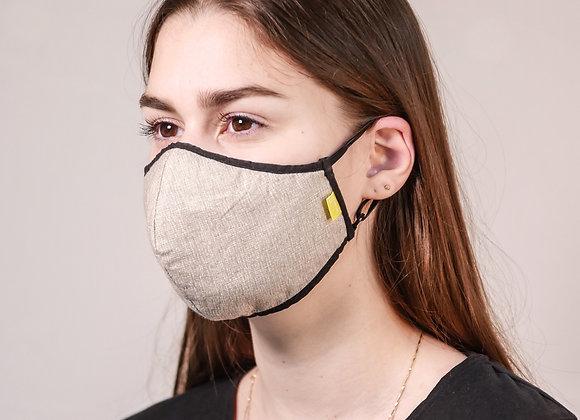 Design mask   Beige