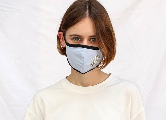 Design Mask | mask it. X Komondors | Baby Blue
