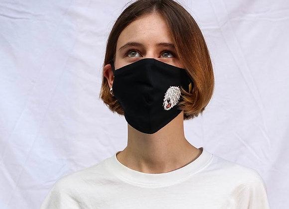 Design Mask   mask it. X Komondors   Black
