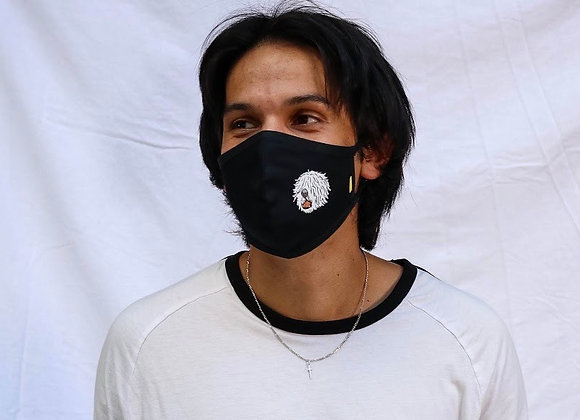 Design Mask | mask it. X Komondors | Black