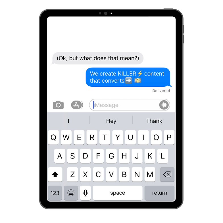 Ipad Text Messages: What We Do