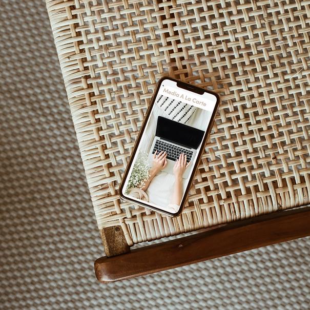 Media+A+La+Carte+Homepage+on+Iphone+on+P