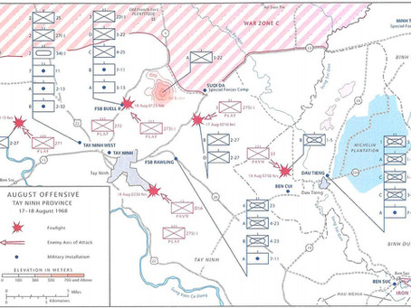 #06 1968 late August - The Battle of Ben Cui