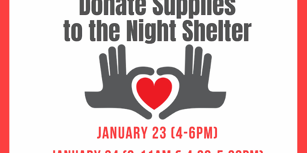 Donate Supplies to the Central Presbyterian Night Shelter