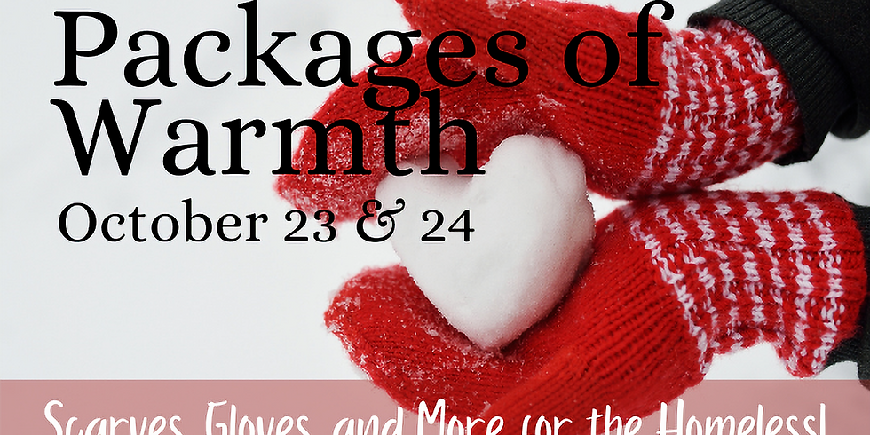 Packages of Warmth Drive for the Homeless