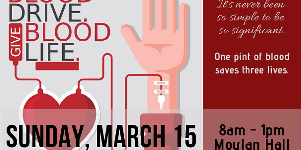 Blood Drive - Save a Life!