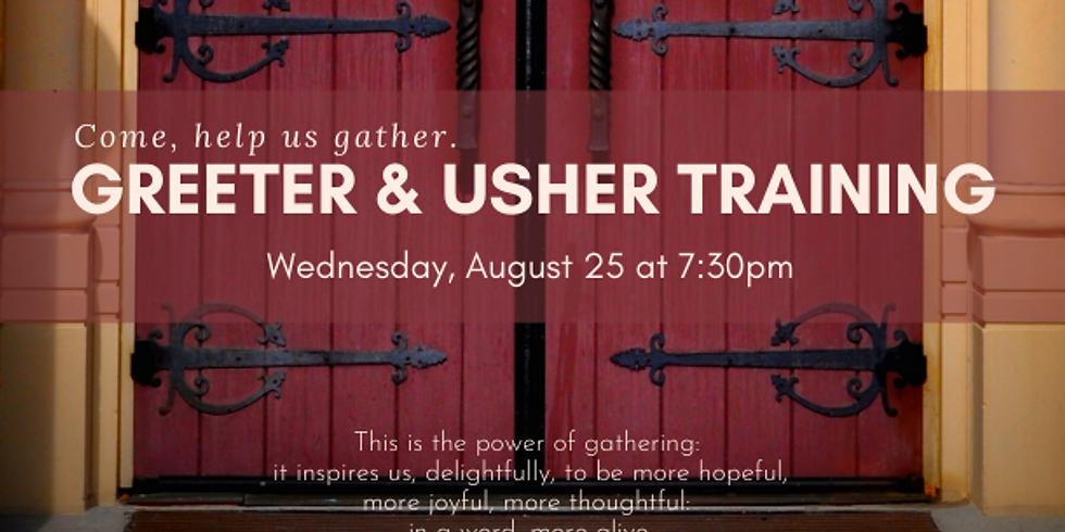 Greeter/Usher Training