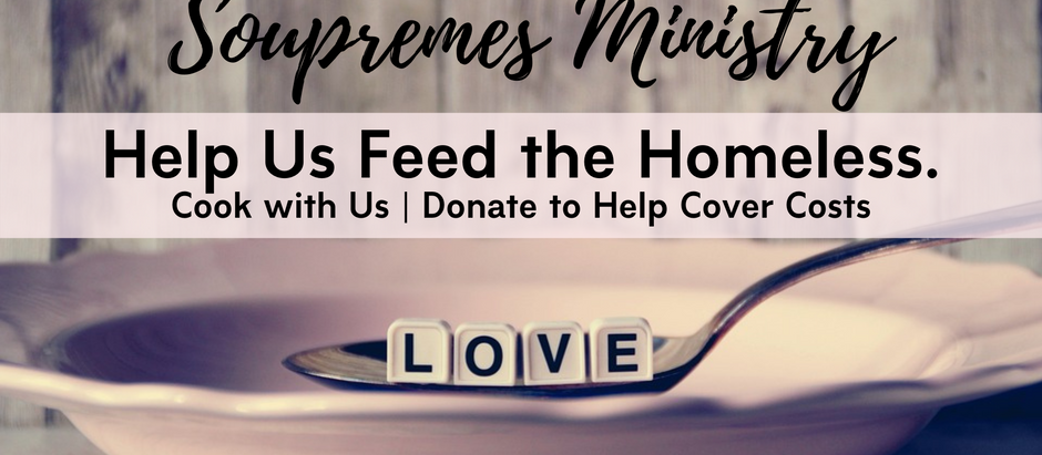 Help the Soupremes Feed the Homeless