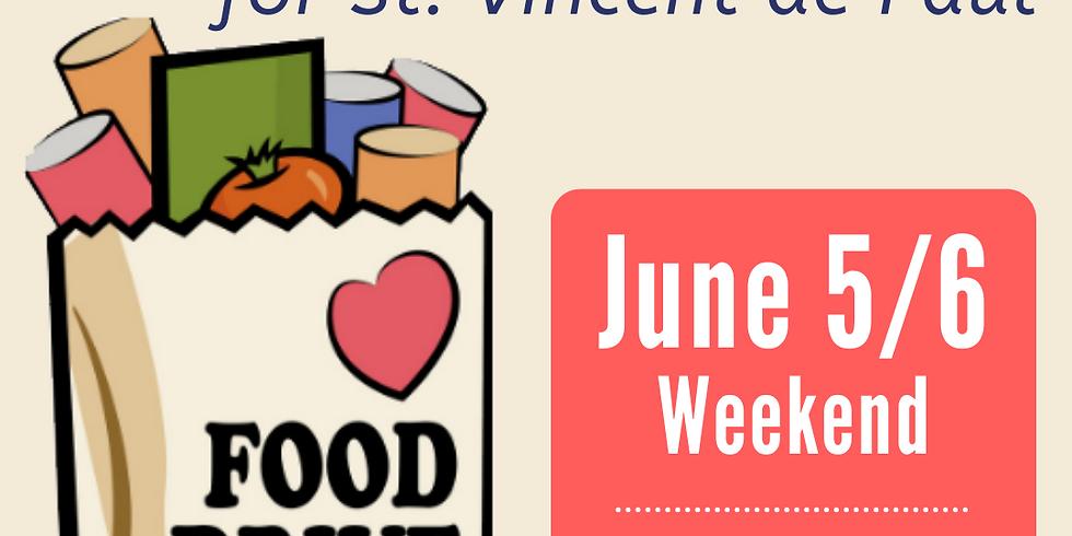 St. Vincent de Paul Food Drive