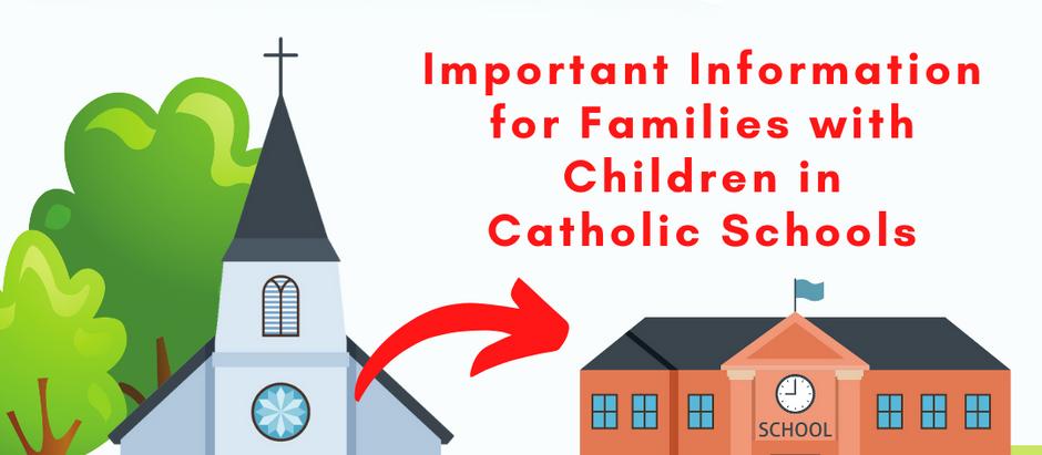 Active Parishioner Status for Catholic Schools