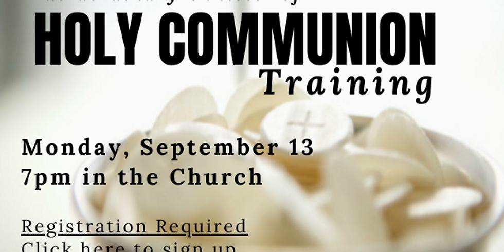 Extraordinary Minister of Holy Communion Training
