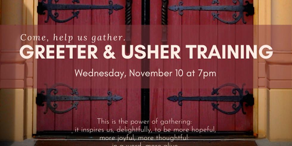 Mass Greeter & Usher Training
