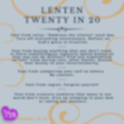 Lenten Twenty in 20 Ideas - Fasting (03)