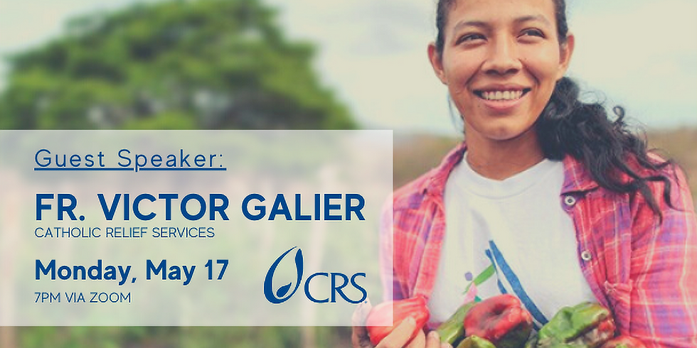 Father Victor Galier of Catholic Relief Services