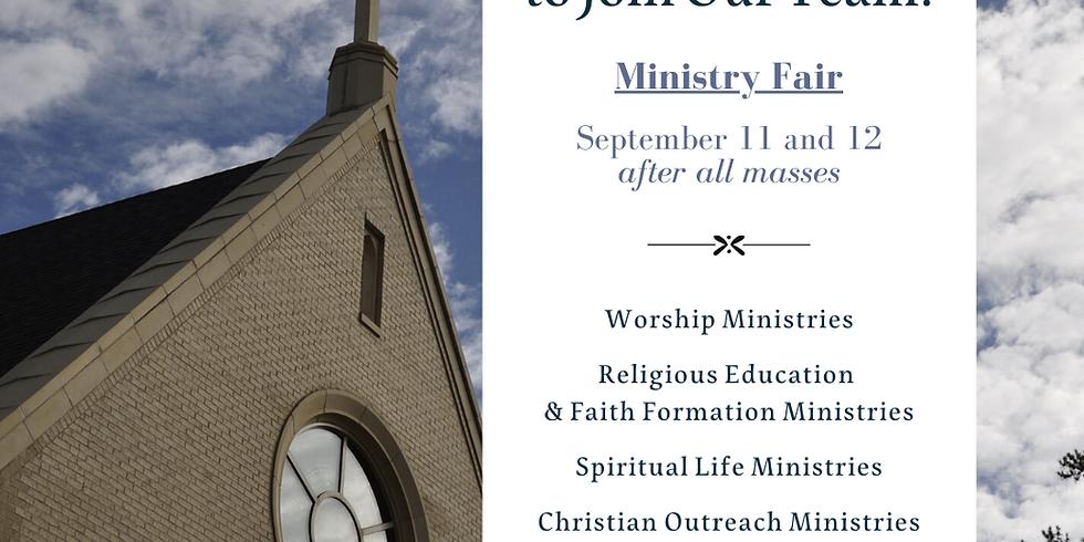 Ministry Fair