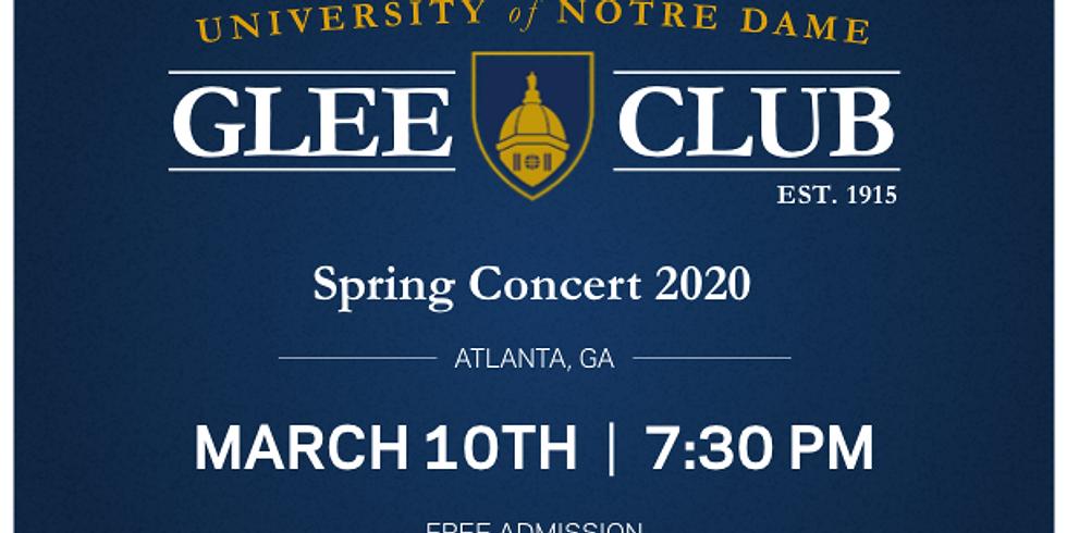 Notre Dame Glee Club Spring Concert
