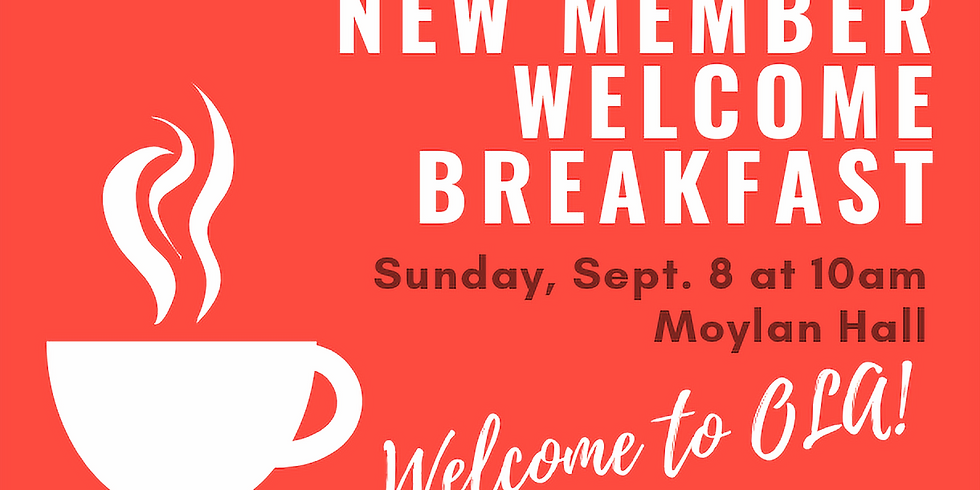 New Member Welcome Breakfast