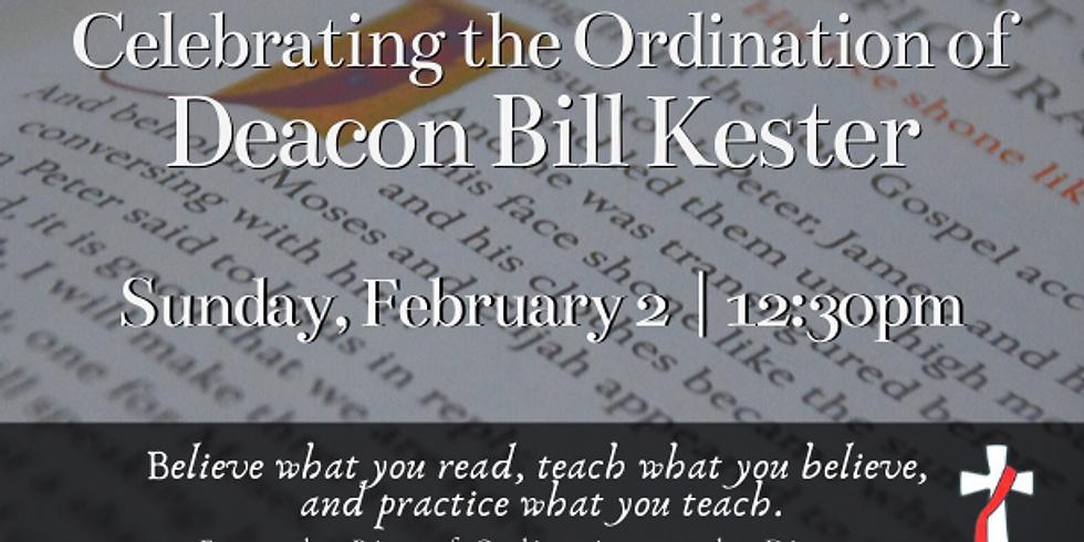 Ordination Reception for Bill Kester