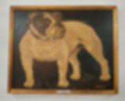 Robert's favorite bulldog art