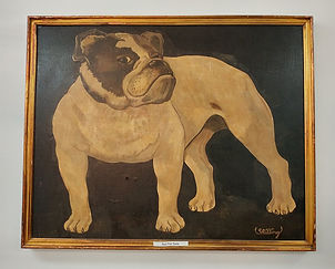 Robert's favorite bulldog art