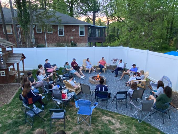 Bonfire, Beer and Big Questions