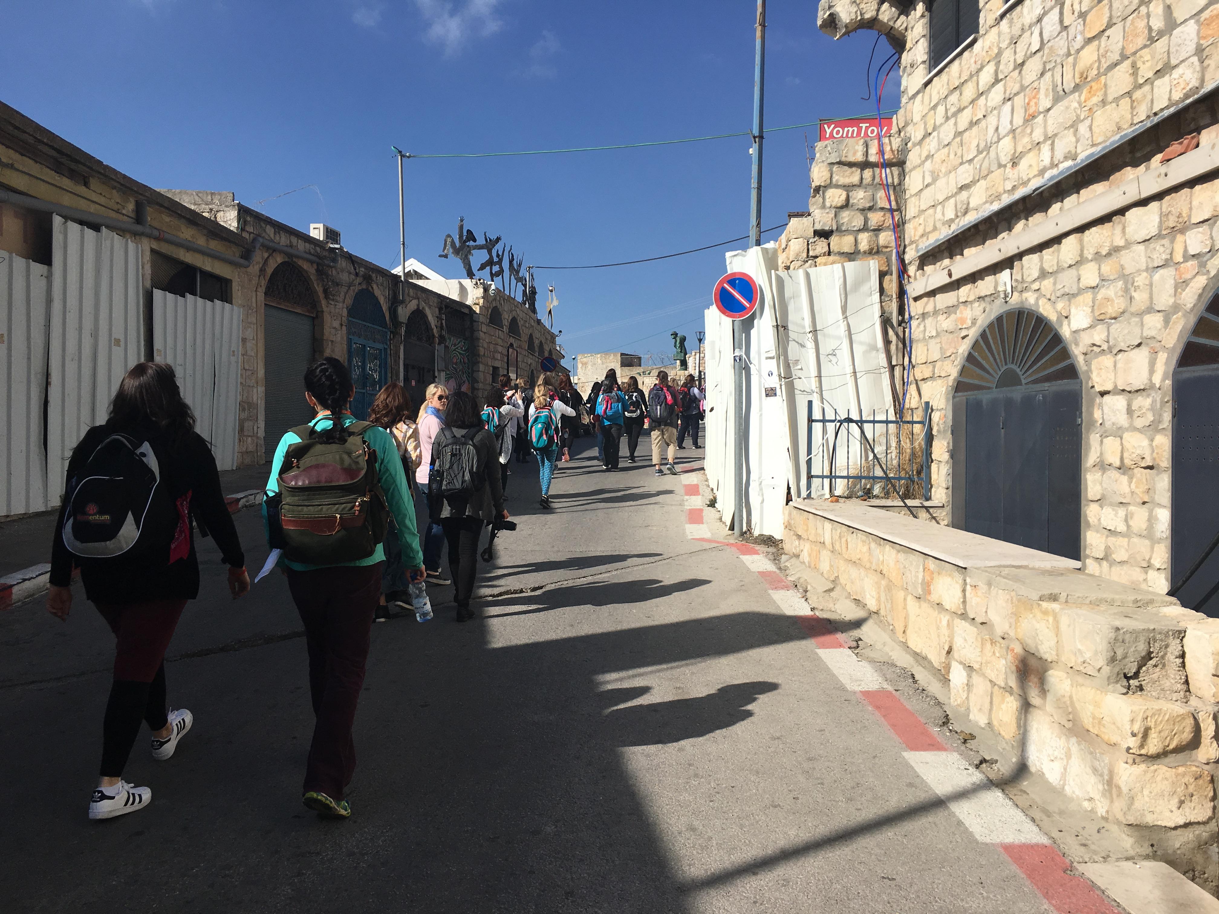 Walking through Tzfat