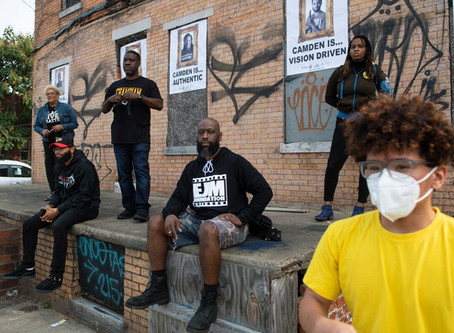 Courier Post: Portraits Highlight Camden's Heroes, Beautify Blighted Spaces