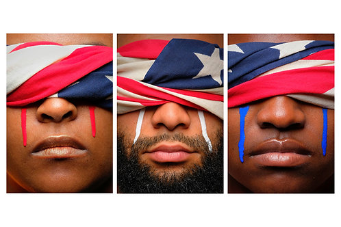 """""""I, Too, Cry for America"""" Fine Art Photography Print"""