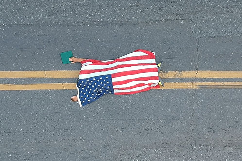 """Crossing the Line: Ode to Michael Brown"" Fine Art Photography Print"