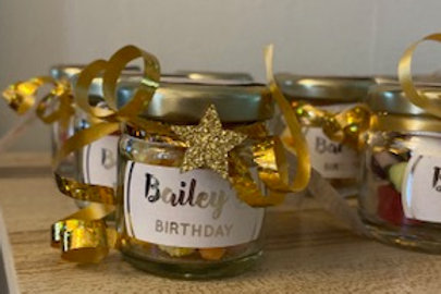 Personalised sweetie Jars
