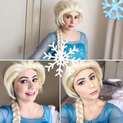Elsa party entertainer